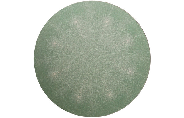 Place-Mat / Coaster Shagreen Green - Zeitgeist Gifts