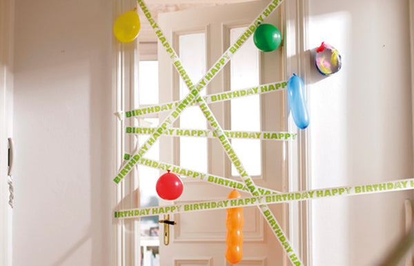 Adhesive Tape Birthday Meter