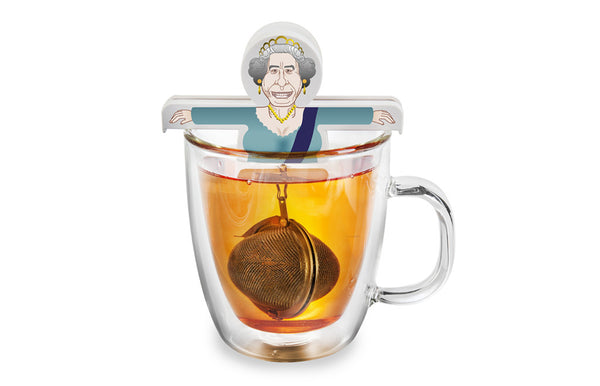 God save the Queen Tea Egg
