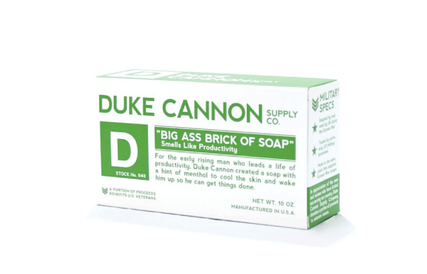 "Duke Cannon - Big Ass Brick of Soap ""Productivity"" - Zeitgeist Gifts"