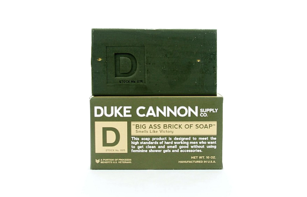 "Duke Cannon - Big Ass Brick of Soap ""Victory"" - Zeitgeist Gifts"