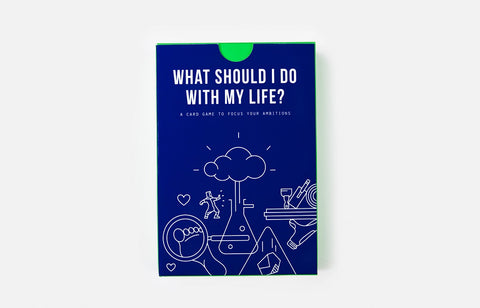 What Should I Do with my Life? Card Game For Job Interests