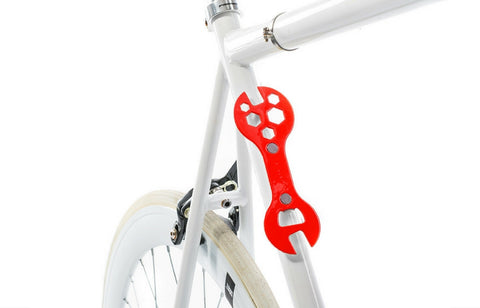 Bike Multi Tool & Bottle Opener X3-P-Super Star Red