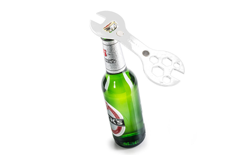 funny unique magnetic bike multi tool bottle opener zeitgeist gifts. Black Bedroom Furniture Sets. Home Design Ideas