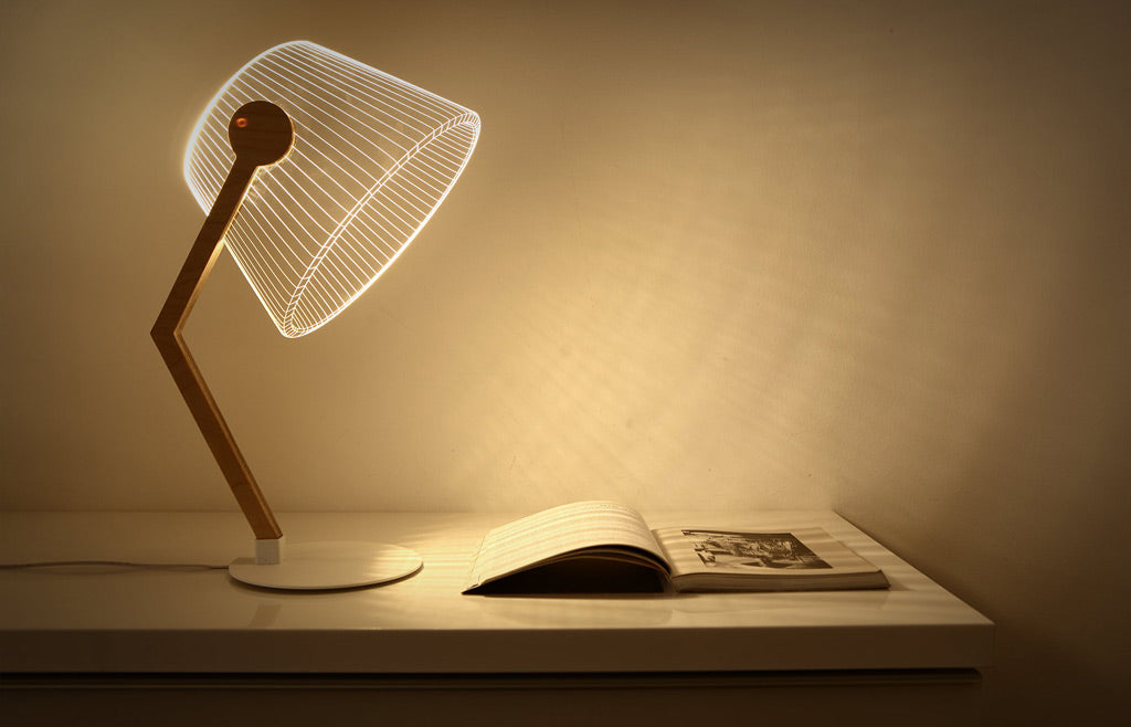 Unique Flat ZIGGi LED Table Lamp