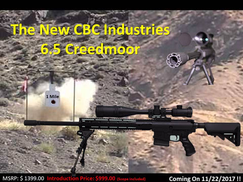 Announcing the New CBC 6.5 Creedmoor!