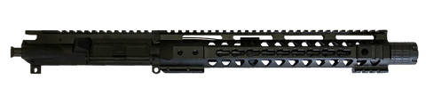 "AR-15 UPPER ASSEMBLY - 10.5"" / 5.56 x 45 / LINEAR COMP / 12"" CBC KEYMOD AR-15 HANDGUARD / RAIL - CBC INDUSTRIES"