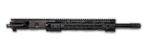 "AR-15 Blemished Upper Assembly - 16"" / 7.62 X 39 / 1:10 / 12"" CBC Arms Keymod AR-15 Handguard / Rail, Blemished - CBC INDUSTRIES"