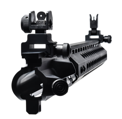 "AR-15 UPPER ASSEMBLY - 16"" / 7.62x39 / SIGHT 150- 560 / 15"" CBC KEYMOD GEN II AR-15 HANDGUARD / RAIL - CBC INDUSTRIES"