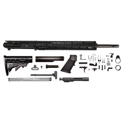 "AR-10 .308 Win Rifle Kit - 20""/ .308 Win/ 1:10 / 15"" Hera Arms IRS AR-10 Handguard / Rail / Bolt Carrier Group / Charging Handle / AR-10 Buttstock Kit / AR-10 Lower Parts Kit"