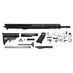 "AR-15 Grendel Rifle Kit - 18""/ 6.5 Grendel / 1:8 / 15"" Hera Arms Keymod AR-15 Handguard / Rail / Bolt Carrier Group / Charging Handle / AR-15 Buttstock Kit / AR-15 Lower Parts Kit"