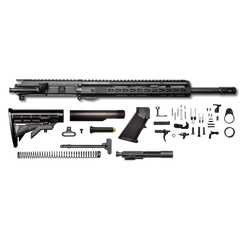 "AR-15 Rifle Kit - 16"" / 300AAC Blackout / 1/8 / 12"" Hera Arms unmarked Keymod AR-15 Handguard / Rail / Bolt Carrier Group / Charging Handle / AR-15 Buttstock Kit / AR-15 Lower Parts Kit"