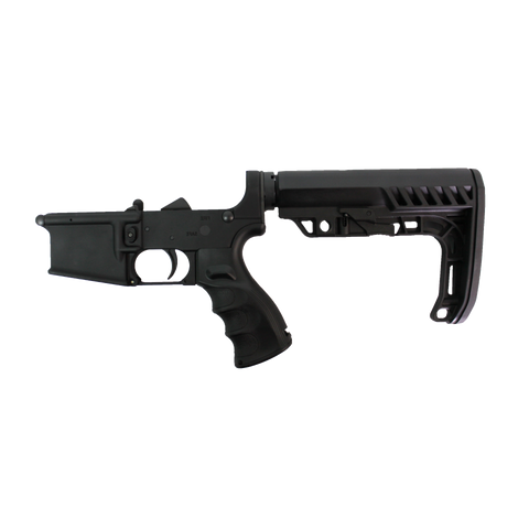 AR-15 Lower - CBC Industries Complete Lower / Minimalist Buttstock / Enhanced Grip, Lower - CBC INDUSTRIES