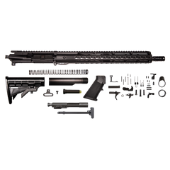 "AR-15 Rifle Kit - 16"" / 300AAC Blackout / 1:8 / 15"" Hera Arms unmarked Keymod AR-15 Handguard / Rail / Bolt Carrier Group / Charging Handle / AR-15 Buttstock Kit / AR-15 Lower Parts Kit"