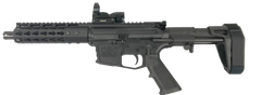 "AR-15 9mm Complete CBC Pistol 7.5"" with Stabilizing Brace"