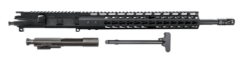 "COMPLETE AR-15 UPPER ASSEMBLY - 16"" / 300 AAC BLACKOUT / BCG & CHH INCLUDED / 13"" CBC KEYMOD GEN 2 AR-15 HANDGUARD / RAIL"