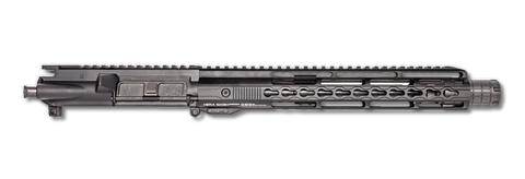 "AR-15 Upper Assembly - 14.5"" / 5.56 x 45 / Pinned & Welded / 15"" Hera Arms Keymod Handguard / Rail Linear Comp."
