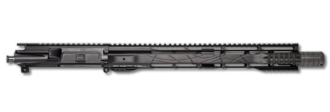 "AR-15 Upper Assembly - 14.5"" / 5.56 X 45 / 15"" Hera Hybrid Grip / Pinned & Welded / AR-15 Handguard / Rail"