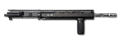 "AR-15 Upper Assembly - 16"" / .223/5.56 / SS / Diamond Fluted / 12"" Hera Arms Quad AR-15 Handguard / Rail / Grip - CBC INDUSTRIES"