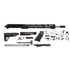 "AR-15 Grendel Rifle Kit - 18"" Stainless / 6.5 Grendel / 1:8 / 15"" Gen 1 AR-15 Handguard / Rail / Bolt Carrier Group / Charging Handle / AR-15 Buttstock Kit / AR-15 Lower Parts Kit"