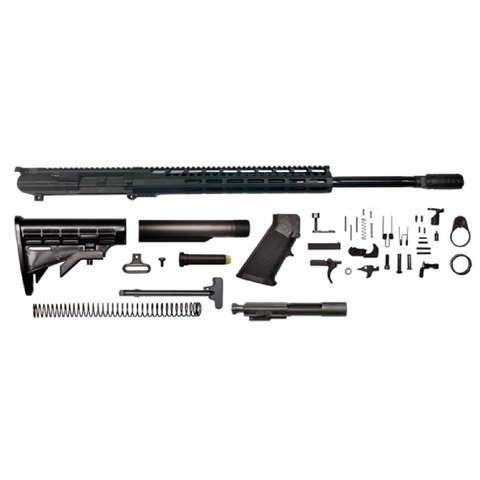 "AR-10 Creedmoor Rifle Kit - 22""/ 6.5 Creedmoor/ 1:8 / 15"" CBC M-LOK AR-10 Handguard / Rail / Bolt Carrier Group / Charging Handle / AR-10 Buttstock Kit / AR-10 Lower Parts Kit"