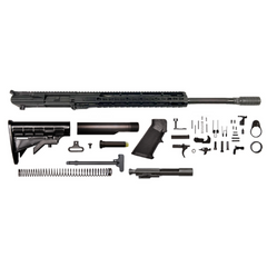 "AR-10 Creedmoor Rifle Kit - 22""/ 6.5 Creedmoor/ 1:8 / 15"" CBC Keymod AR-10 Handguard / Rail / Bolt Carrier Group / Charging Handle / AR-10 Buttstock Kit / AR-10 Lower Parts Kit"