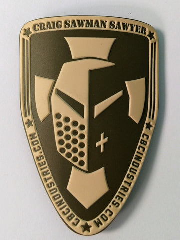 "CBC Industries ""Sawman"" Morale Patch"