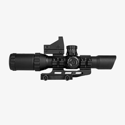 CBC Optic-Assault Series Scope Combo 1-4X28 Micro Red Dot / P4 Sniper, Sight - CBC INDUSTRIES
