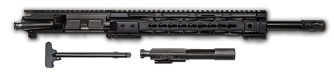 "COMPLETE AR-15 Upper Assembly - 16"" / 7.62 X 39 / BCG & CHH Included / 12"" CBC Keymod AR-15 Handguard / Rail - CBC INDUSTRIES"