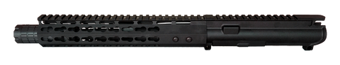 "AR-15 UPPER ASSEMBLY - 7.5"" / 300 AAC / LINEAR COMP / 10"" CBC KEYMOD GEN 2 AR-15 HANDGUARD / RAIL - CBC INDUSTRIES"