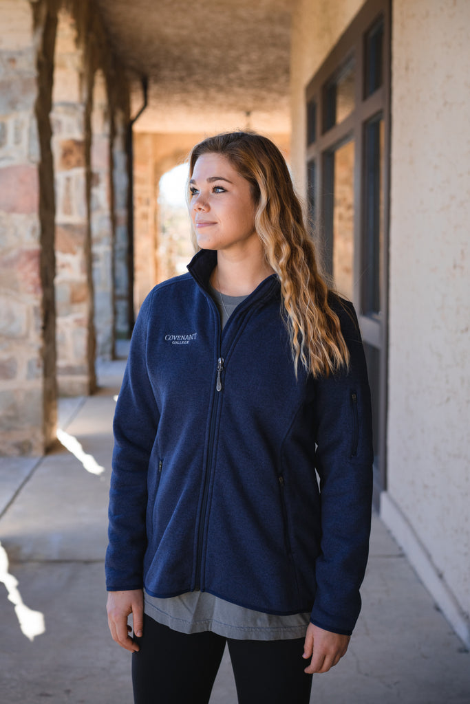 Women's LLBean Navy Jacket