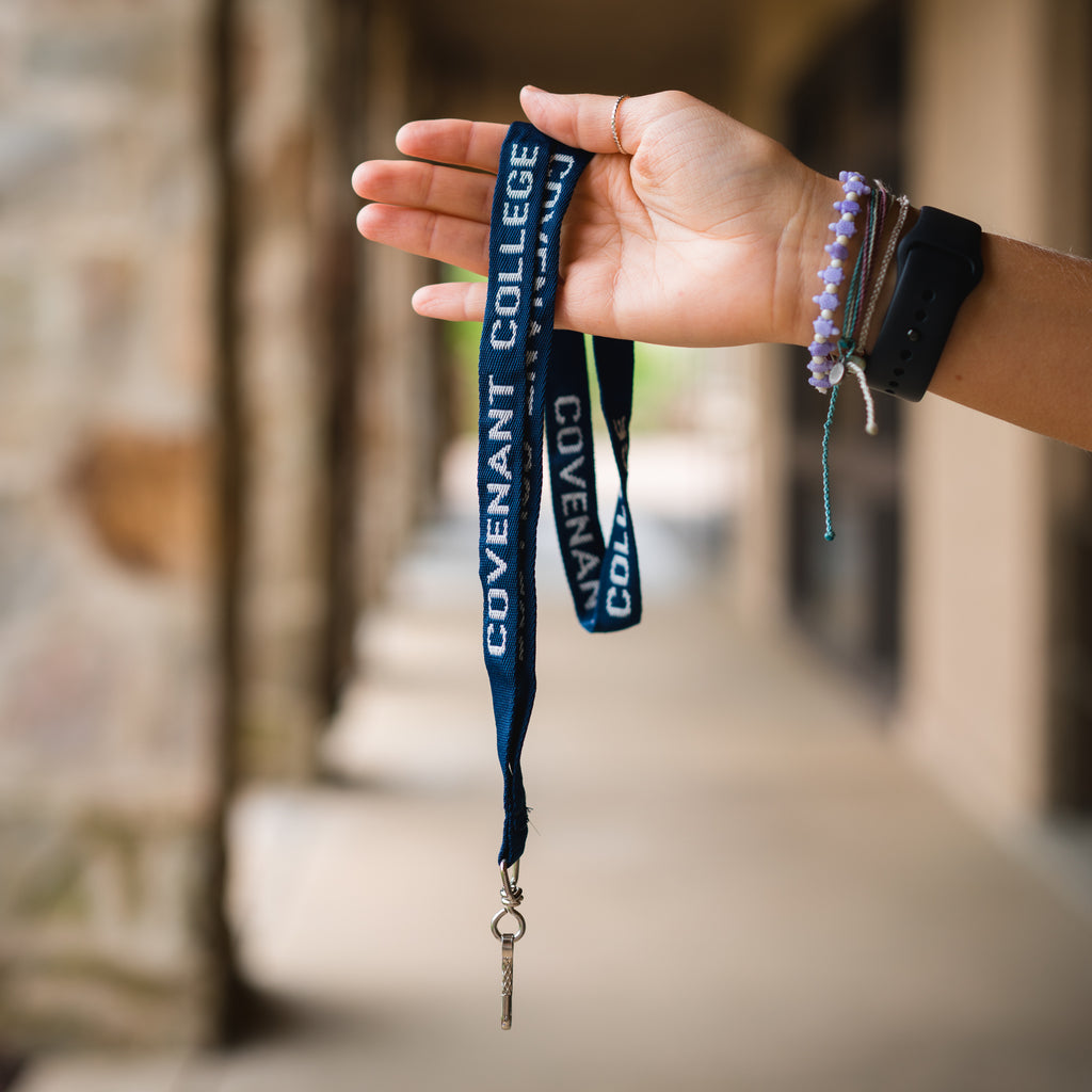 Covenant College Wide Woven Lanyard