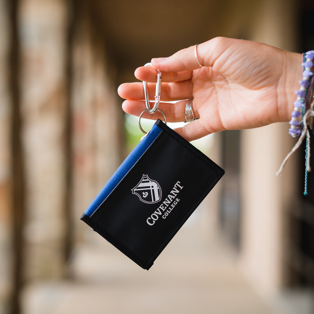 Covenant College Velcro Wallet Keychain