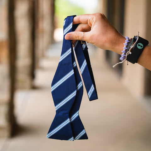 Official Covenant College Regimental Stripe Bow Tie
