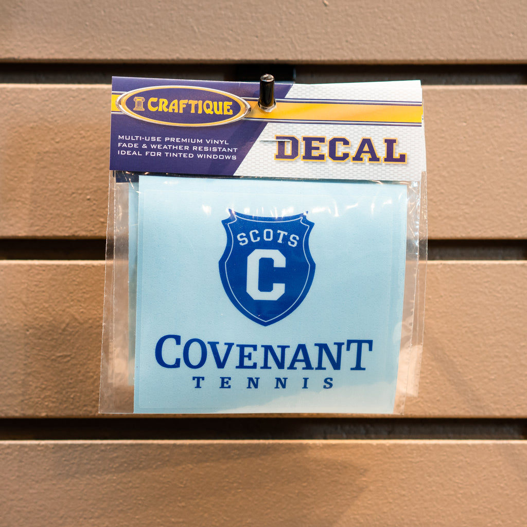 Covenant Tennis Decal