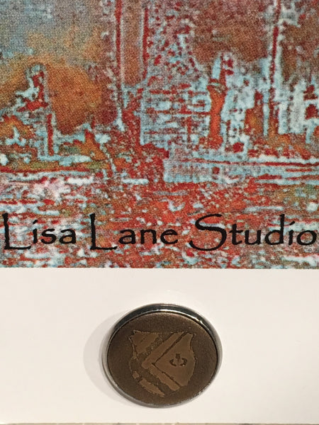 Lisa Lane Hand Made Lapel Pin