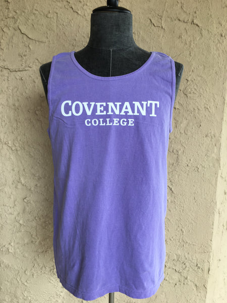 Comfort Colors Covenant College Unisex Tank Top (Multiple Colors)