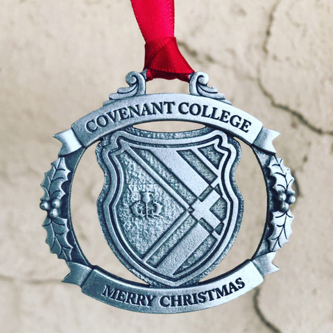 Covenant College Pewter Christmas Ornament