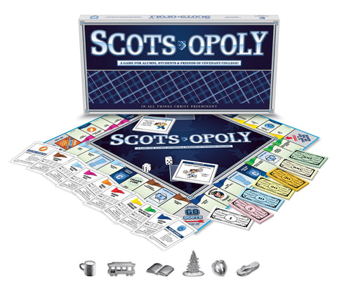 NEW! - Scots-Opoly Board Game