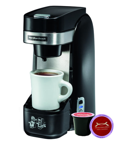Hamilton Beach HDC310 Single Serve Cup Deluxe Coffeemaker with Tuberous Sclerosis Alliance Variety Pack