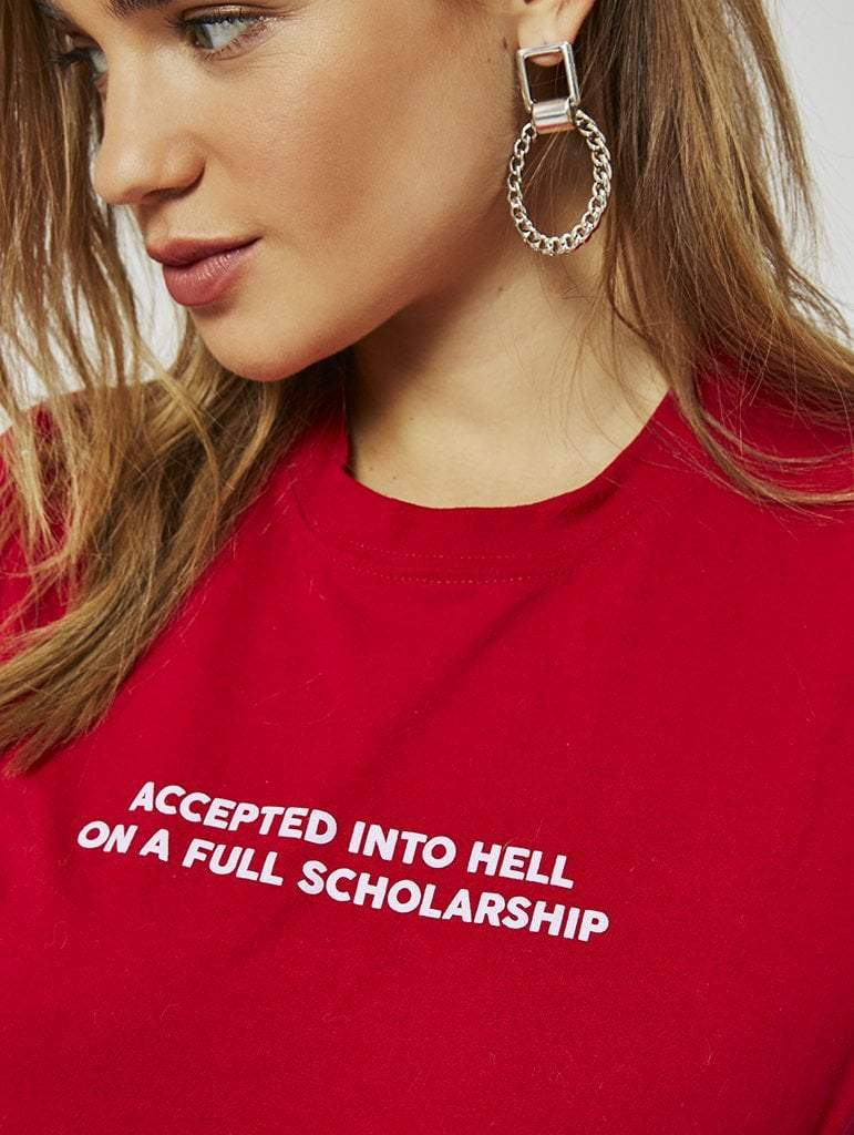Accepted Into Hell T-Shirt