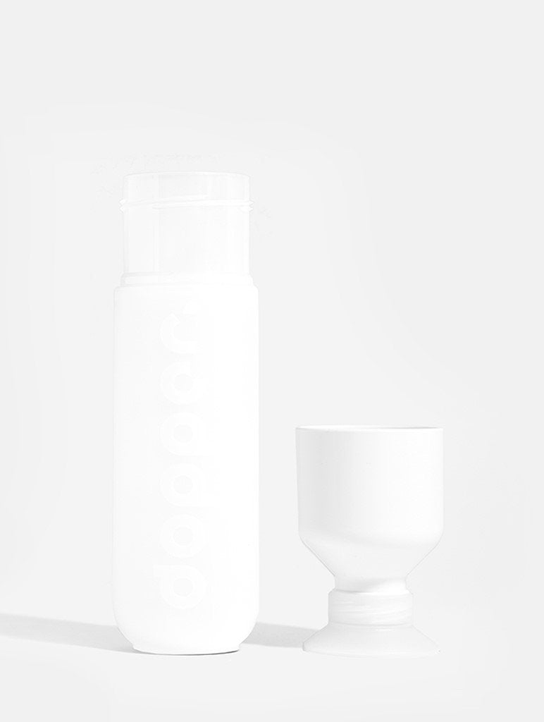 Dopper Sustainable White Water Bottle 450ml