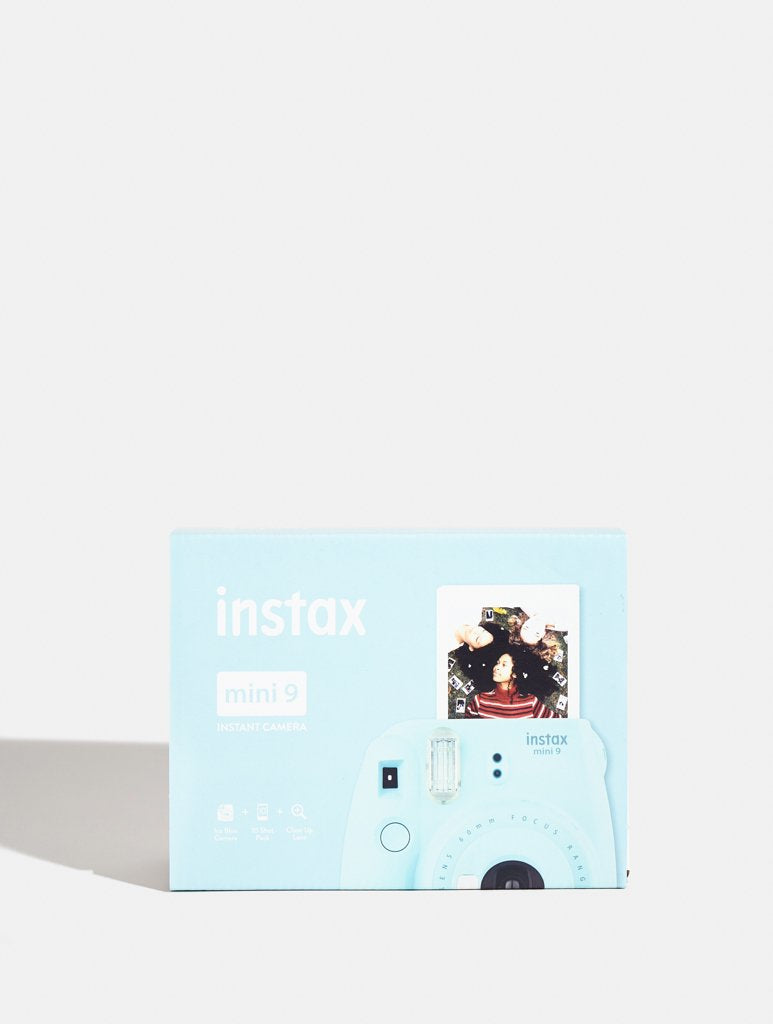Instax Mini 9 Ice Blue Camera Plus 10 Shots