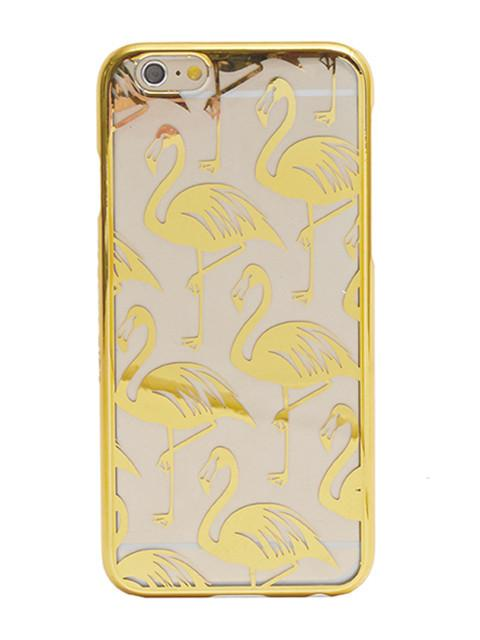 Gold Flamingo Case
