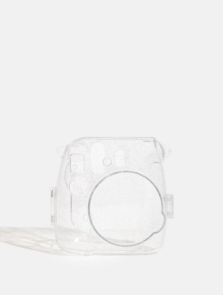 Instax Mini 9 Sparkly Transparent Case