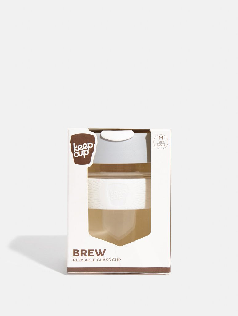 KeepCup Brew Glass Coffee Cup Cino