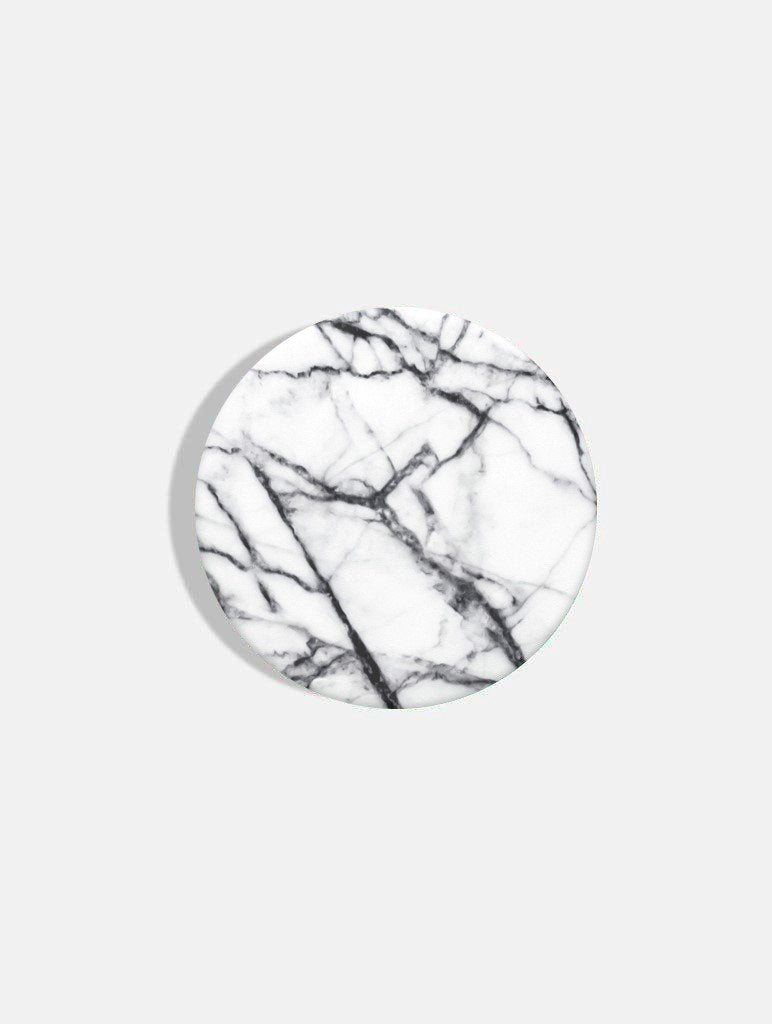 PopSockets Grips Swappable Dove White Marble
