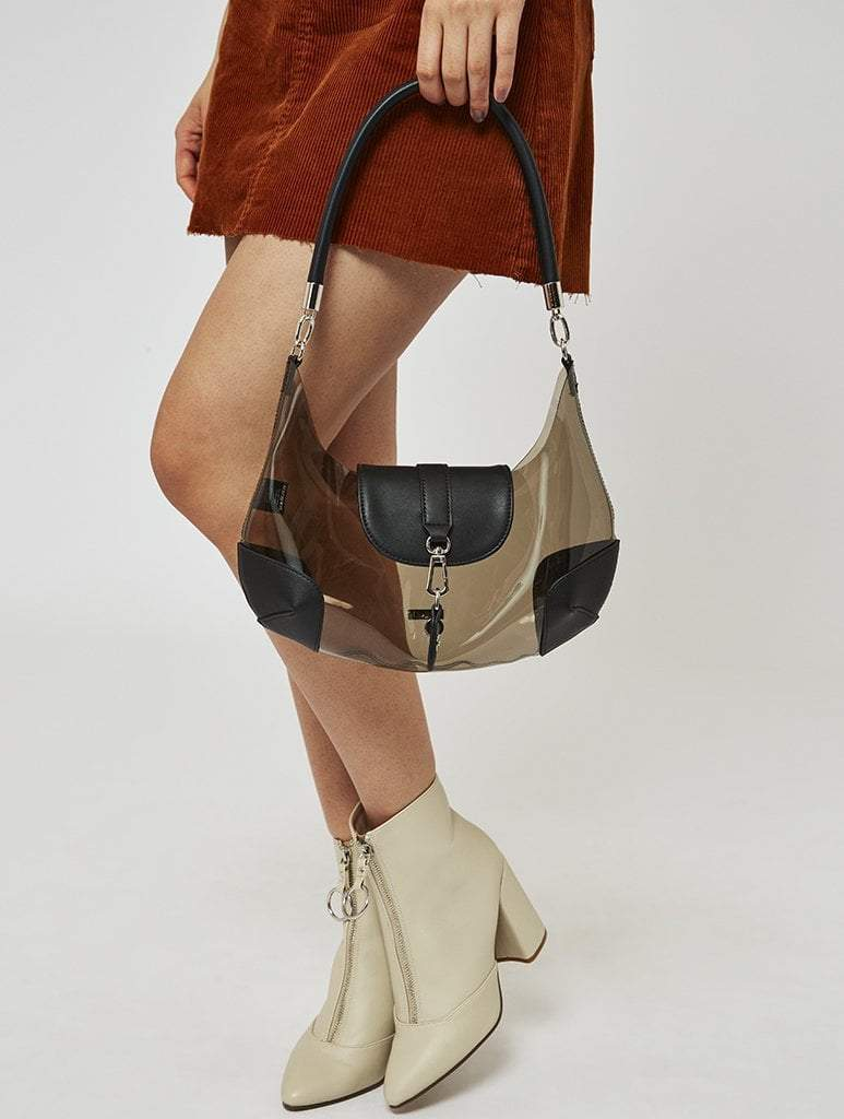 Mimi PVC Shoulder Bag