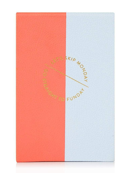 Funday Faux Leather Notepad