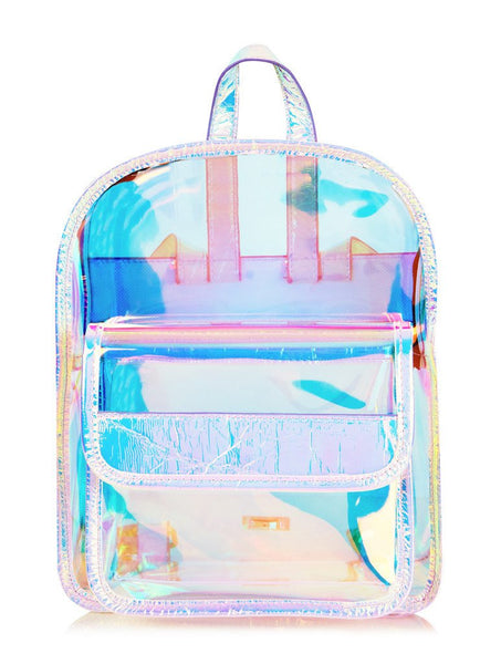 Clear Holo Backpack